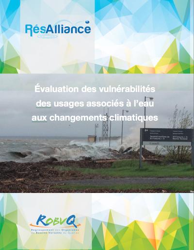 Évaluation des vulnérabilités des usages associés aux changements climatiques