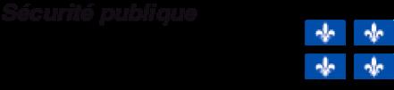 Logo Ministère de la Sécurité publique