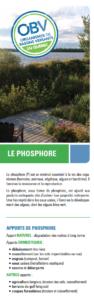Flyer sur le phosphore